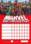 Personalised Marvel Superheroes Reward Chart (adding photo option available)